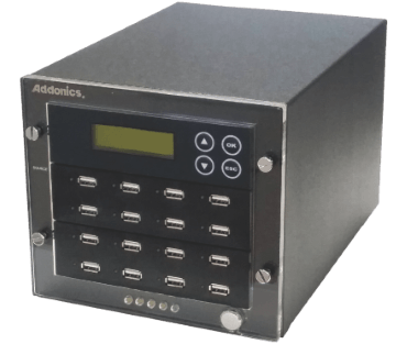 1:15 USB HDD / Flash Compact Duplicator (model: UDFH15-C)