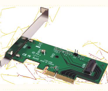 M2 PCIe SSD adapter (model: ADM2PX4)