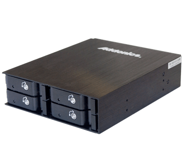 """2.5"""" HDD/SSD Disk Array 4 (model: AE4RT25S)"""