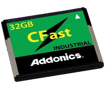 Industrial CFast SLC SSD (model: AFCFAS3W64G-S)